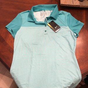 short sleeve women's nike golf shirt
